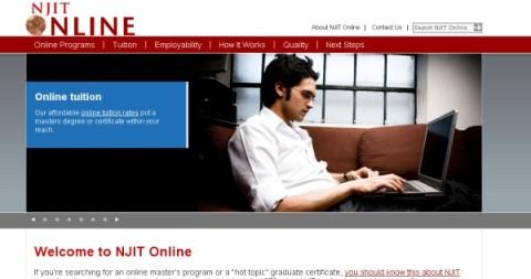 njit online homepage