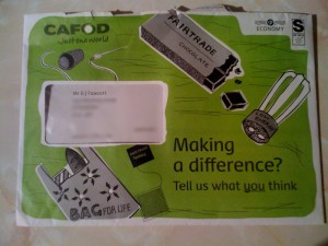 Outside of CAFOD mailer