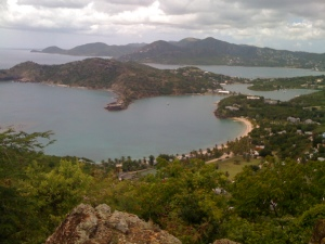 The view from Shirey Heights, Antigua